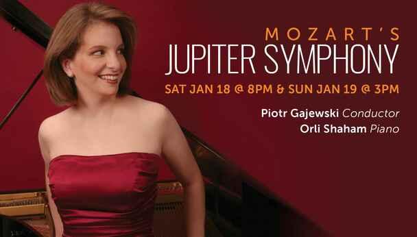 National Philharmonic with Orli Shaham on Piano: Mozart's Jupiter Symphony