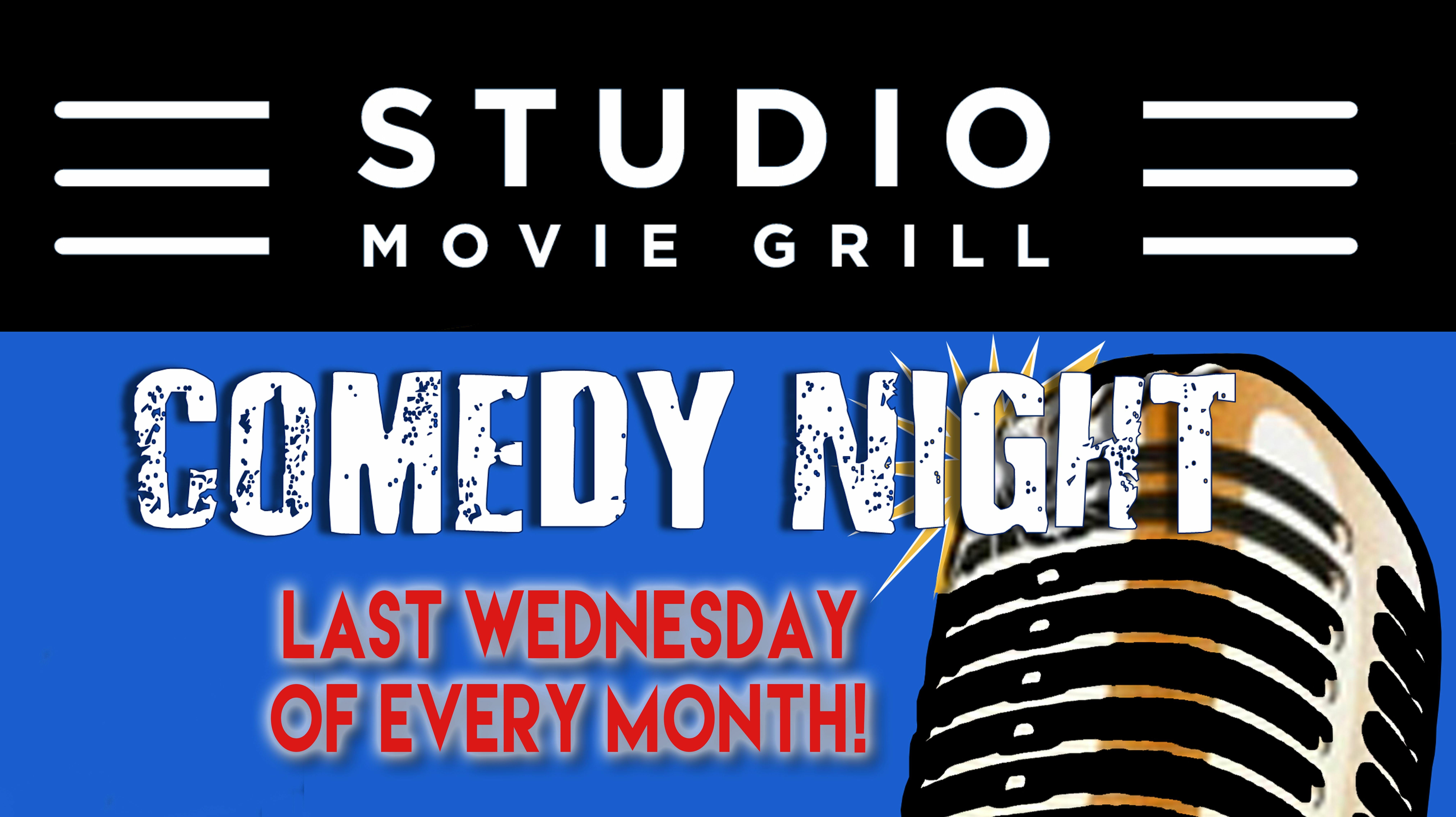 Live Comedy at Studio Movie Grill