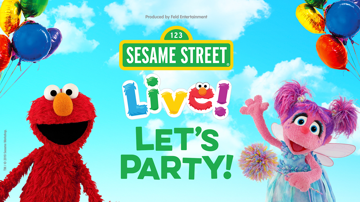 """Sesame Street Live! Let's Party!"""