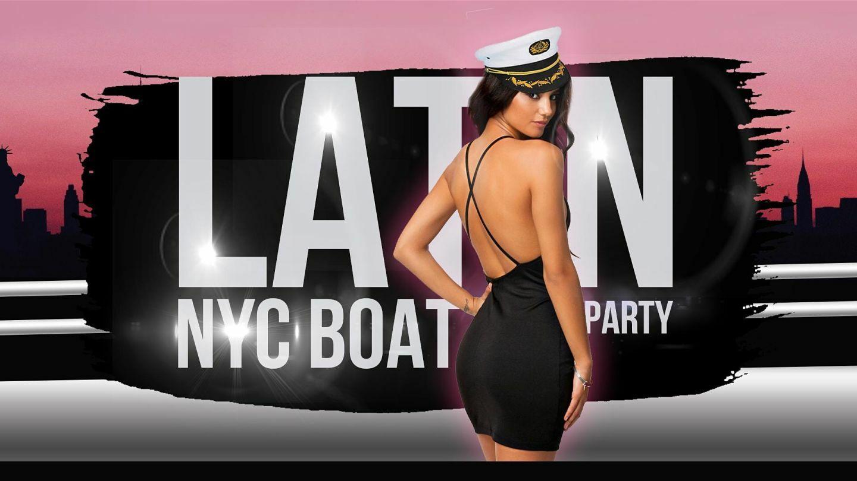 Latina Boat Party NYC Around Manhattan