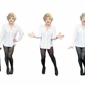 "Stritch Slapped"": A Musical Evening With Elaine Stritch Starring Peter Mac"
