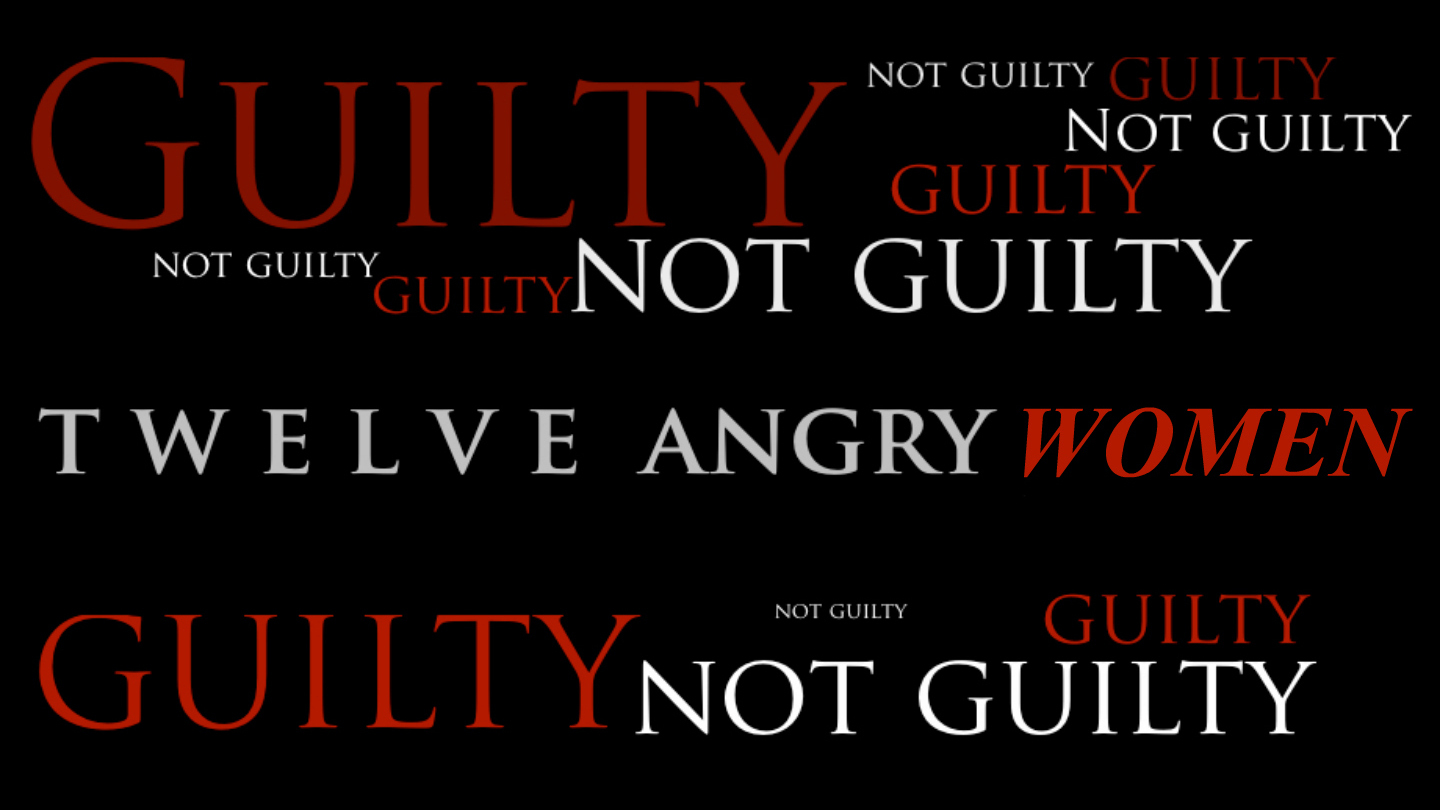 """Courtroom Drama """"Twelve Angry Women"""""""
