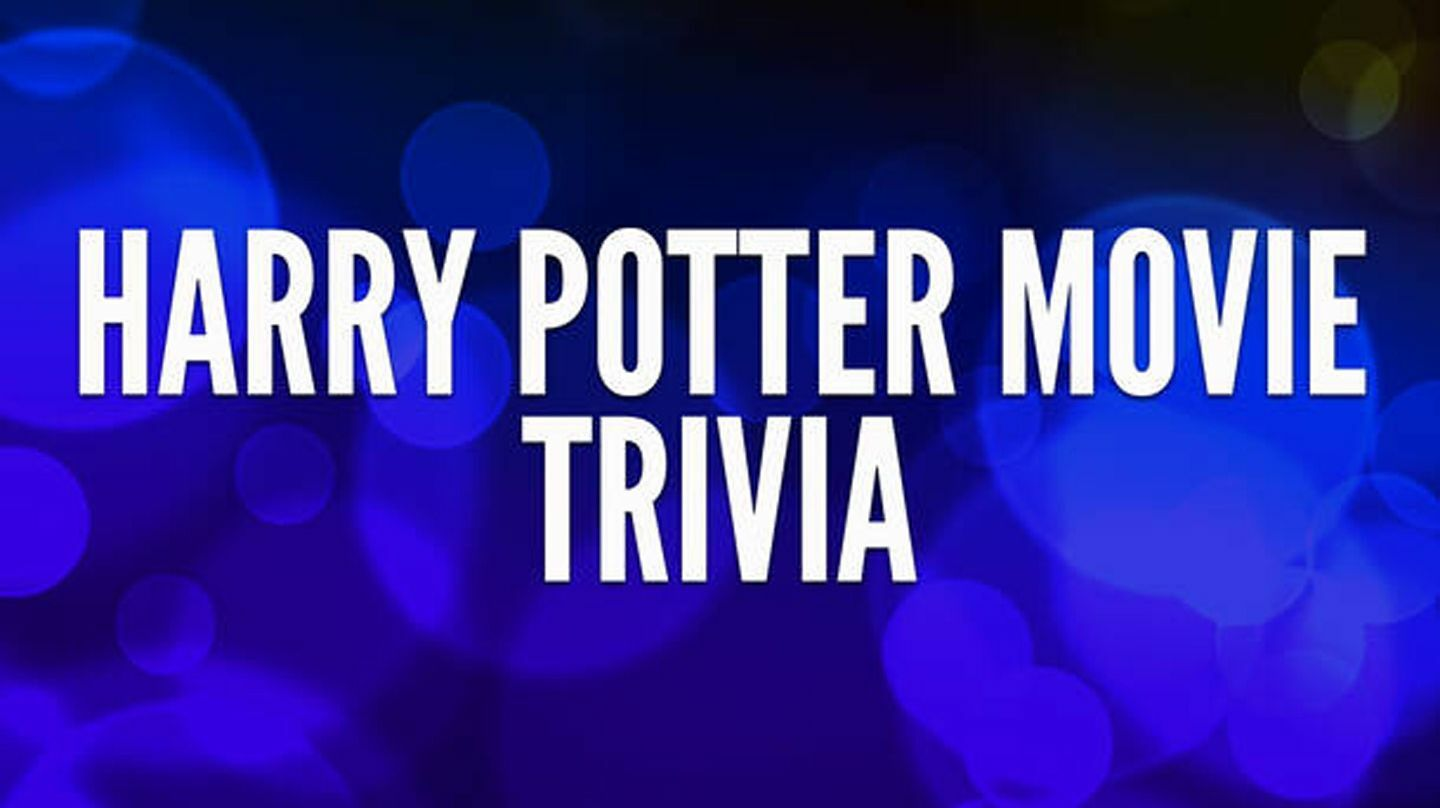 Harry Potter Movie Trivia via Zoom: Welcome to Hogwarts!