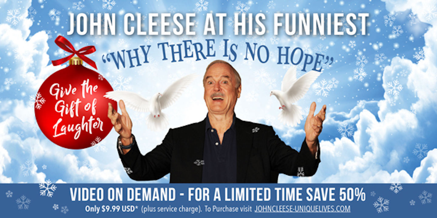 """John Cleese From London: """"Why There Is No Hope"""" -- Online"""