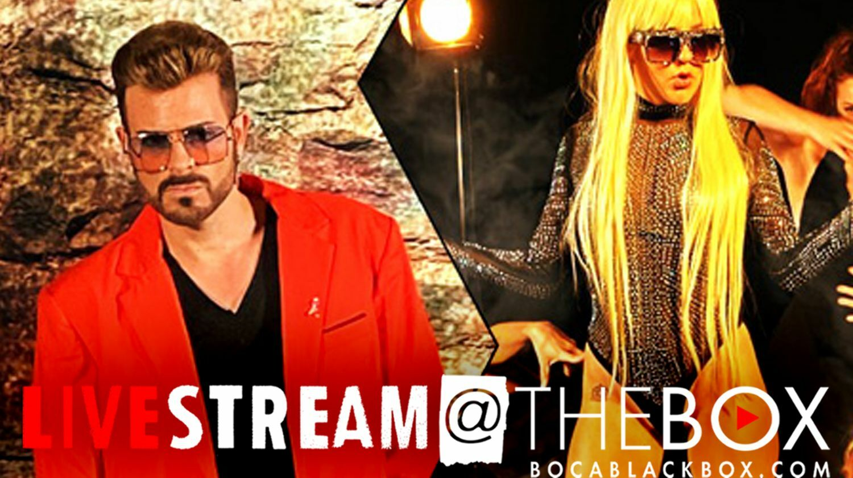 "Born This Way: LADY GAGA & GEORGE MICHAEL: ""Livestream @ The Box"""