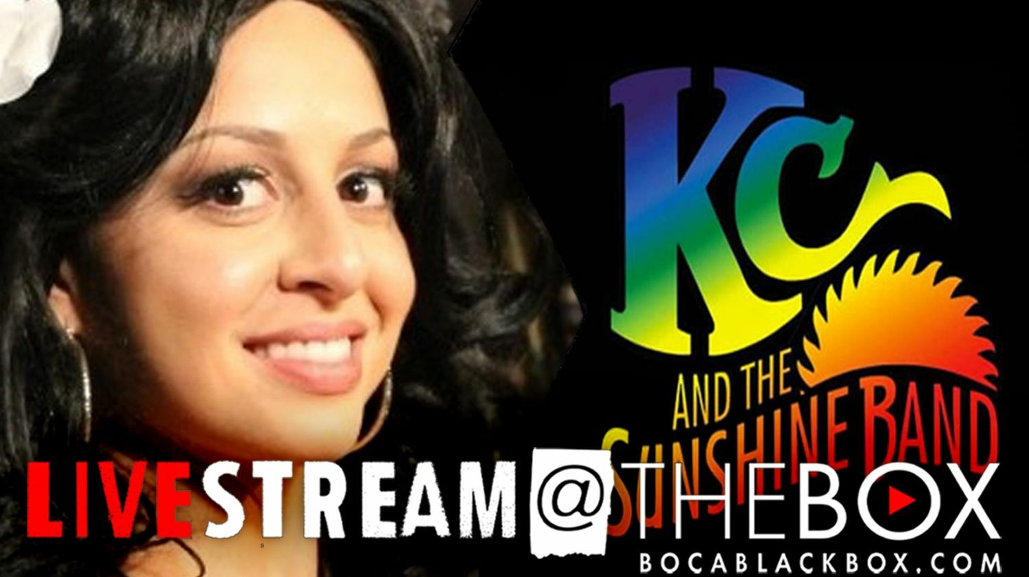 """Music of DONNA SUMMER & KC AND THE SUNSHINE BAND: """"Livestream @ The Box"""""""