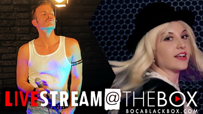 "The Music of BRITNEY SPEARS & FREDDIE MERCURY: ""Livestream @ The Box"""