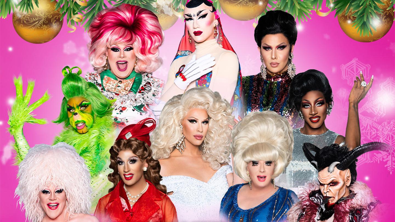 """""""Drag Queen Christmas 2020"""" -- Online"""