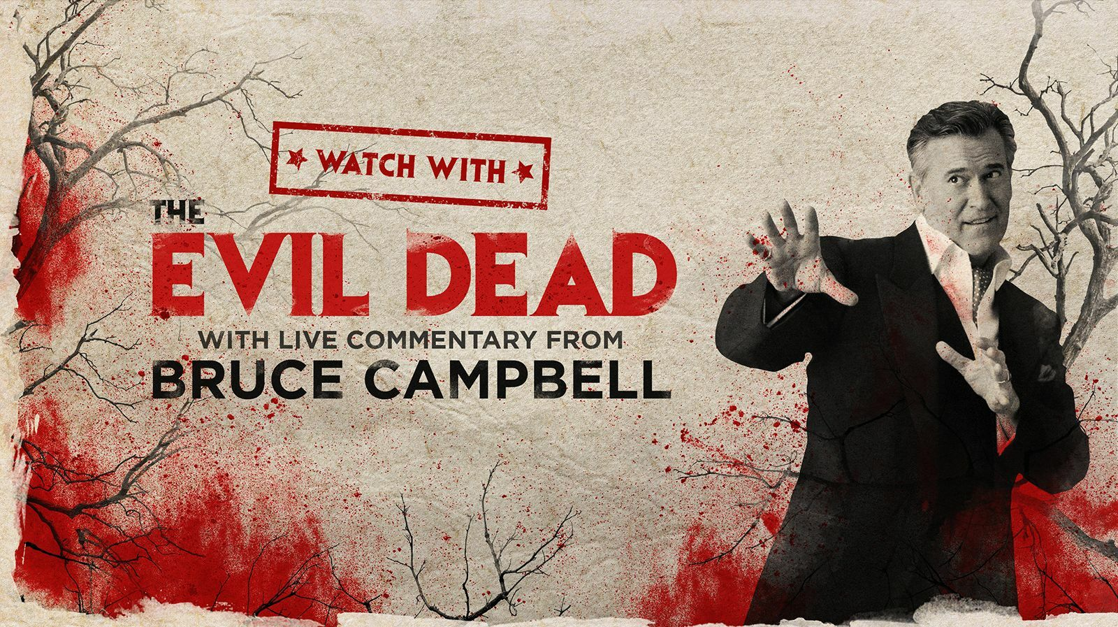 """Watch With...Bruce Campbell presents """"The Evil Dead"""" - Online"""