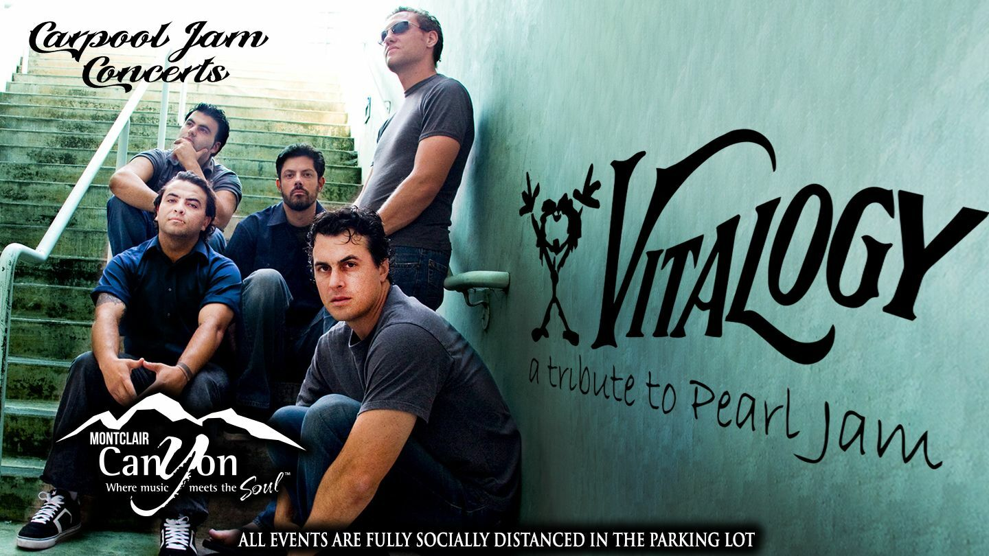 Carpool Jam Concert In The Parking Lot: Pearl Jam Tribute by Vitalogy