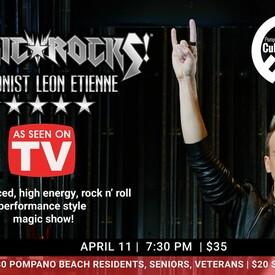 Magic Rocks! Featuring Illusionist Leon Etienne