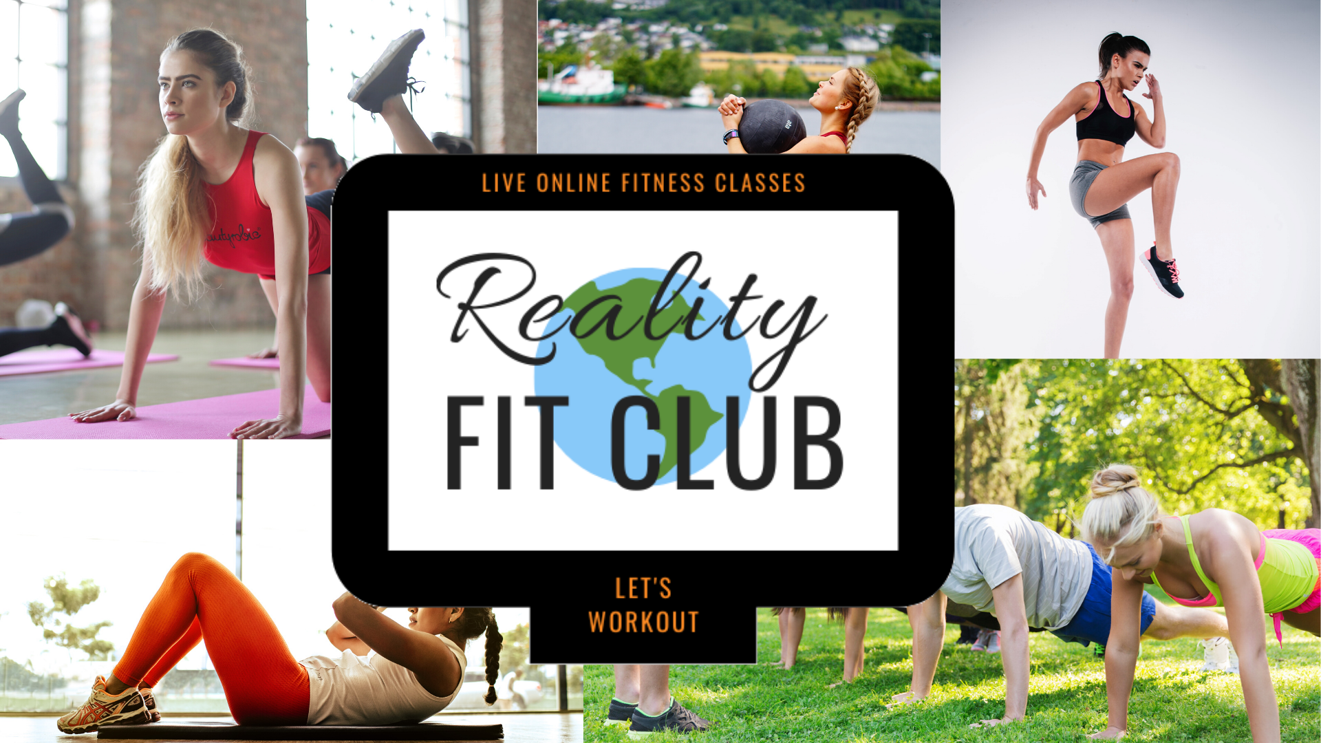 Reality Fit Club: Live Online Fitness Classes