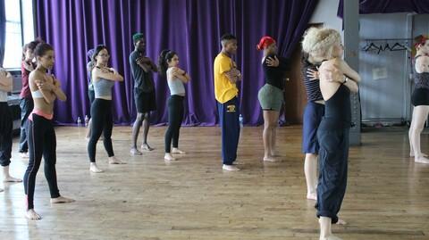 Dance Your Frame: Modern Technique -- Online Class