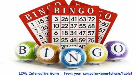 Online Bingo Fundraiser