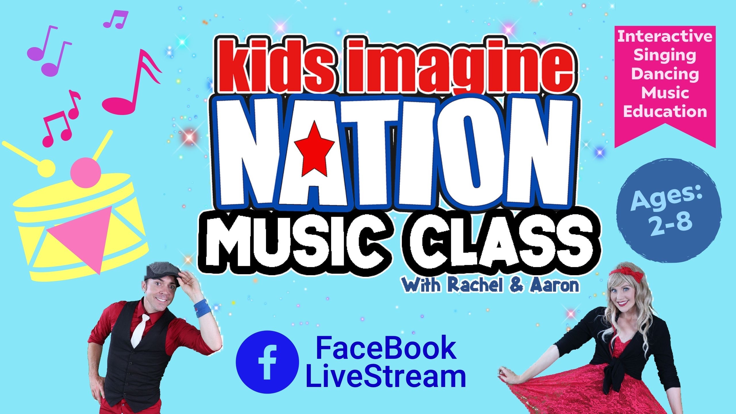 Kids Imagine Nation: Online Music Classes