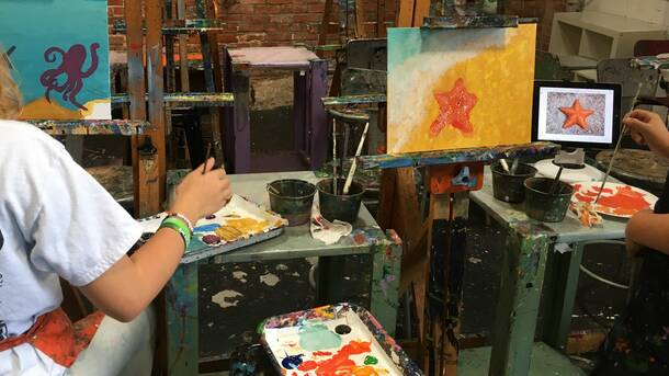 Online Art and Painting Lesson for Kids