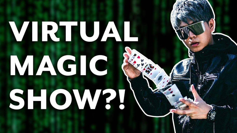 Virtual Magic, Mind Reading & Hypnosis Show