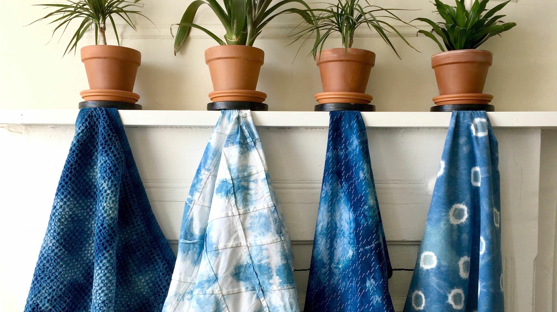 Virtual Workshop: Shibori Indigo Tie-Dye