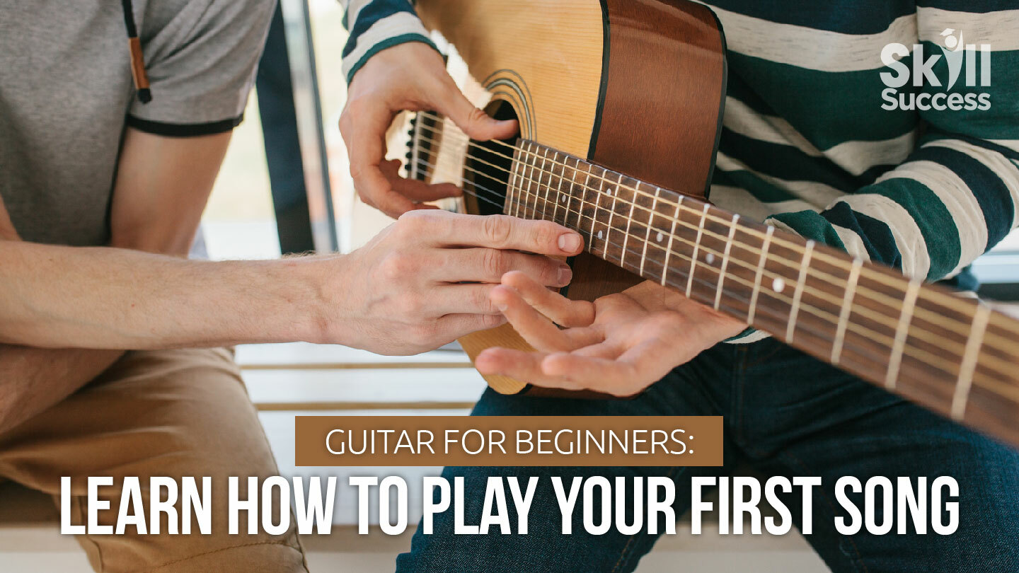 Online Guitar for Beginners: Learn How To Play Your First Song
