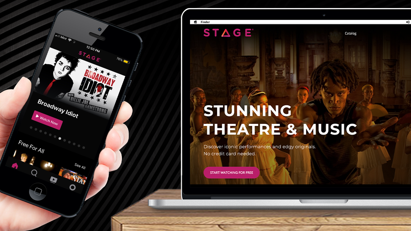 The STAGE Network — Online Streaming