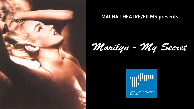 """Marilyn -- My Secret"": Streaming Online"