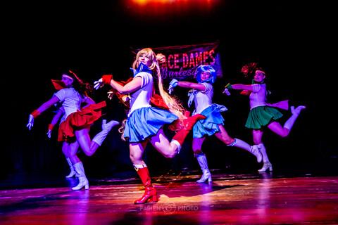 Dollface Dames Theater Burlesque: Online Event