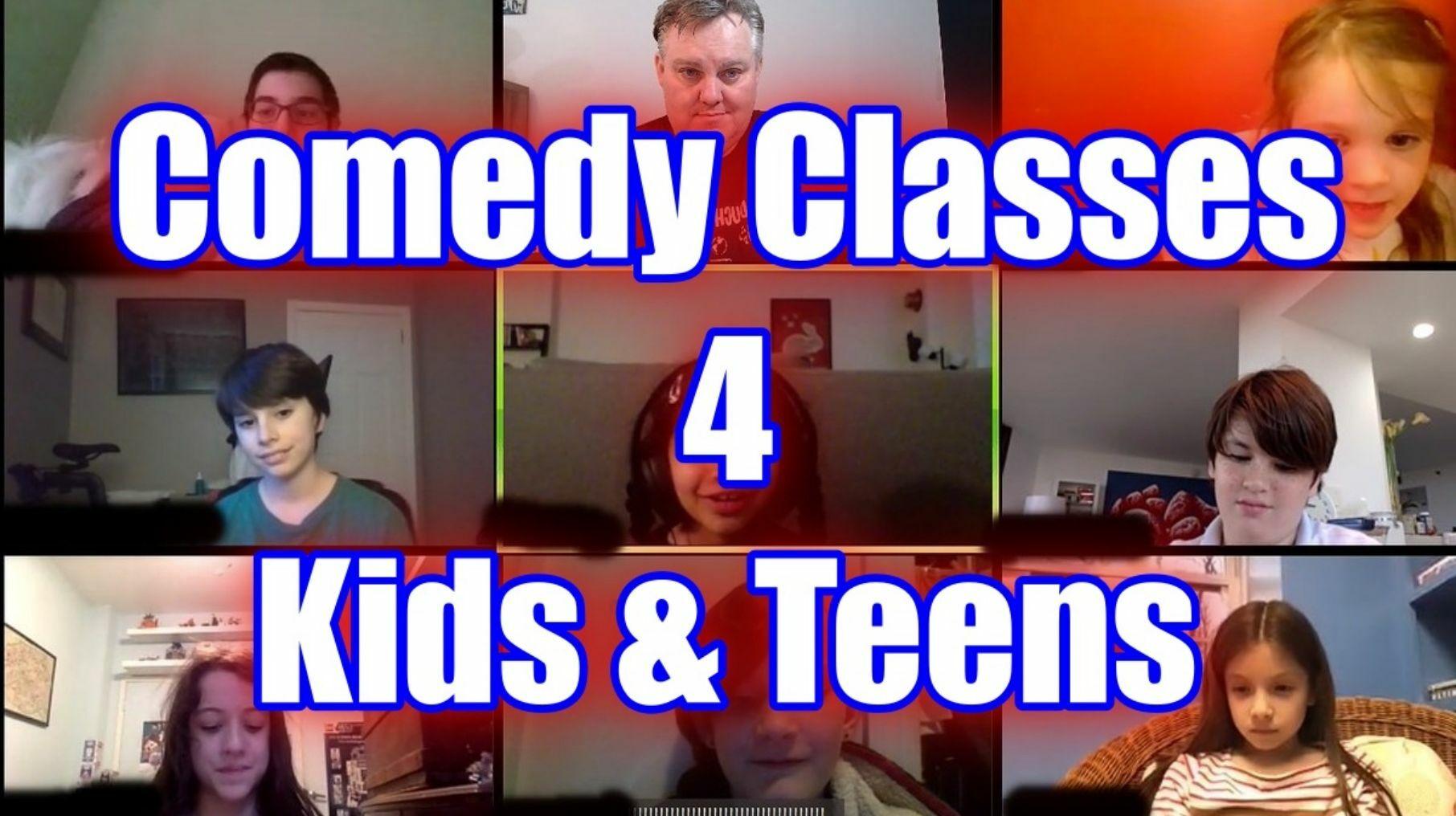 Comedy 4 Kids Online Classes
