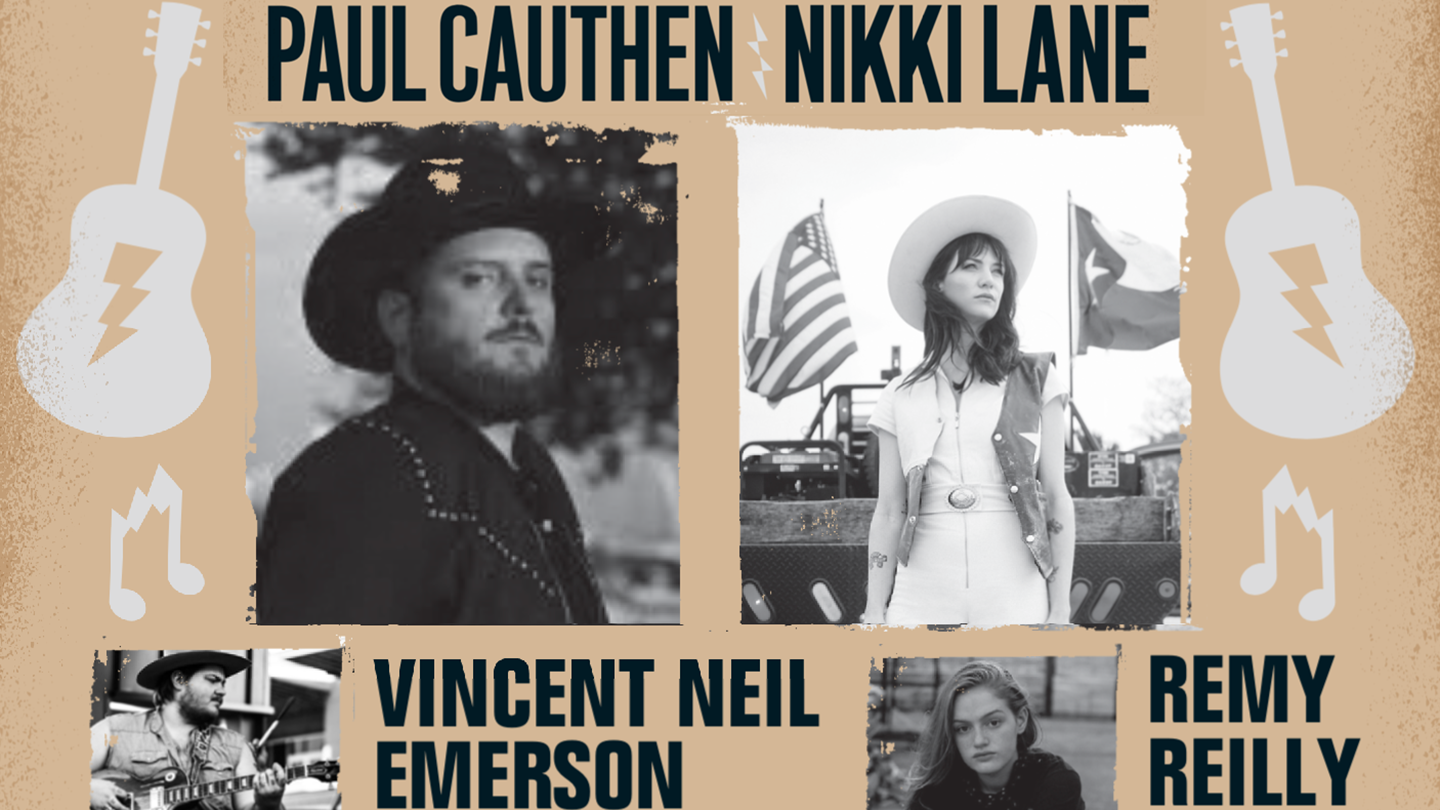 Live at the Drive-In Featuring Paul Cauthen, Nikki Lane and more