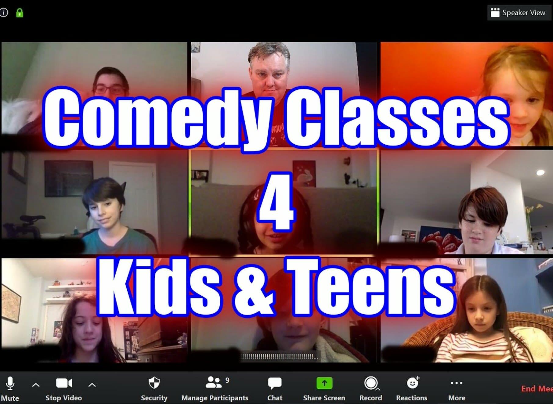 Comedy 4 Teens Online Classes