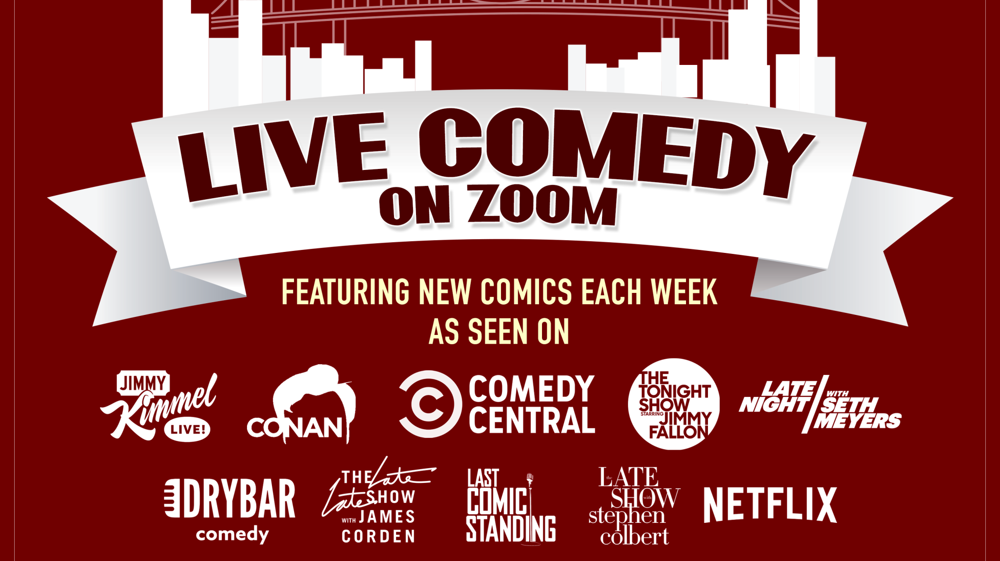 Live Comedy On Zoom!