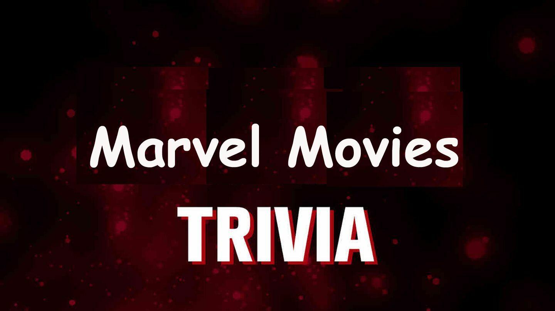Marvel Movies Trivia LIVE -- Online