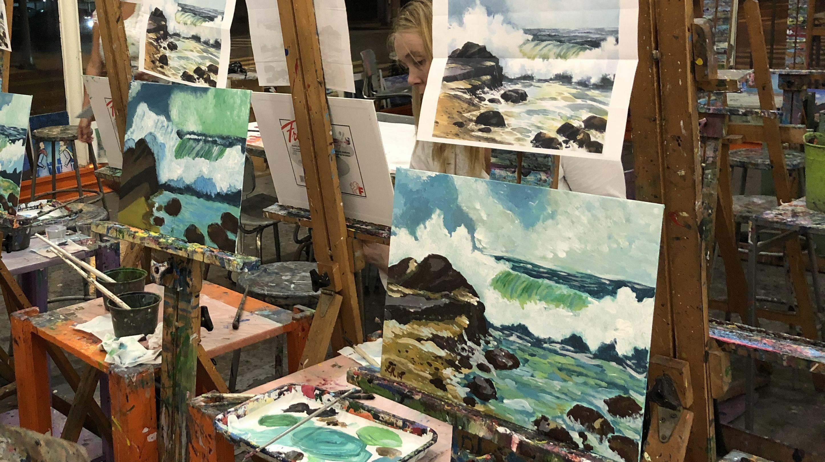 Online Art Class: Draw, Paint, Create! Art @PAINTLAB