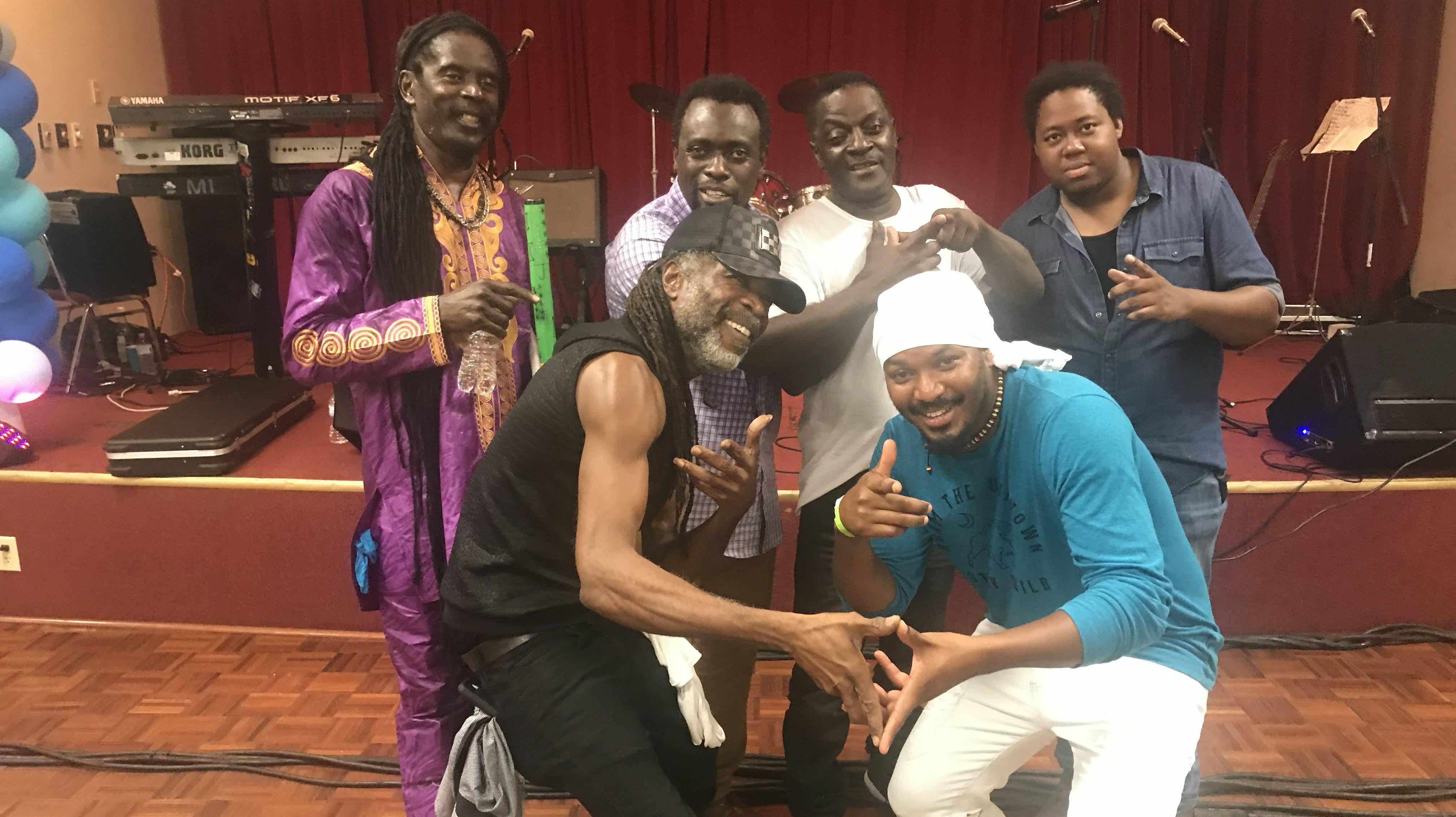 Ifrolix Band Plays for Classic Reggae Singers -- Online Concert