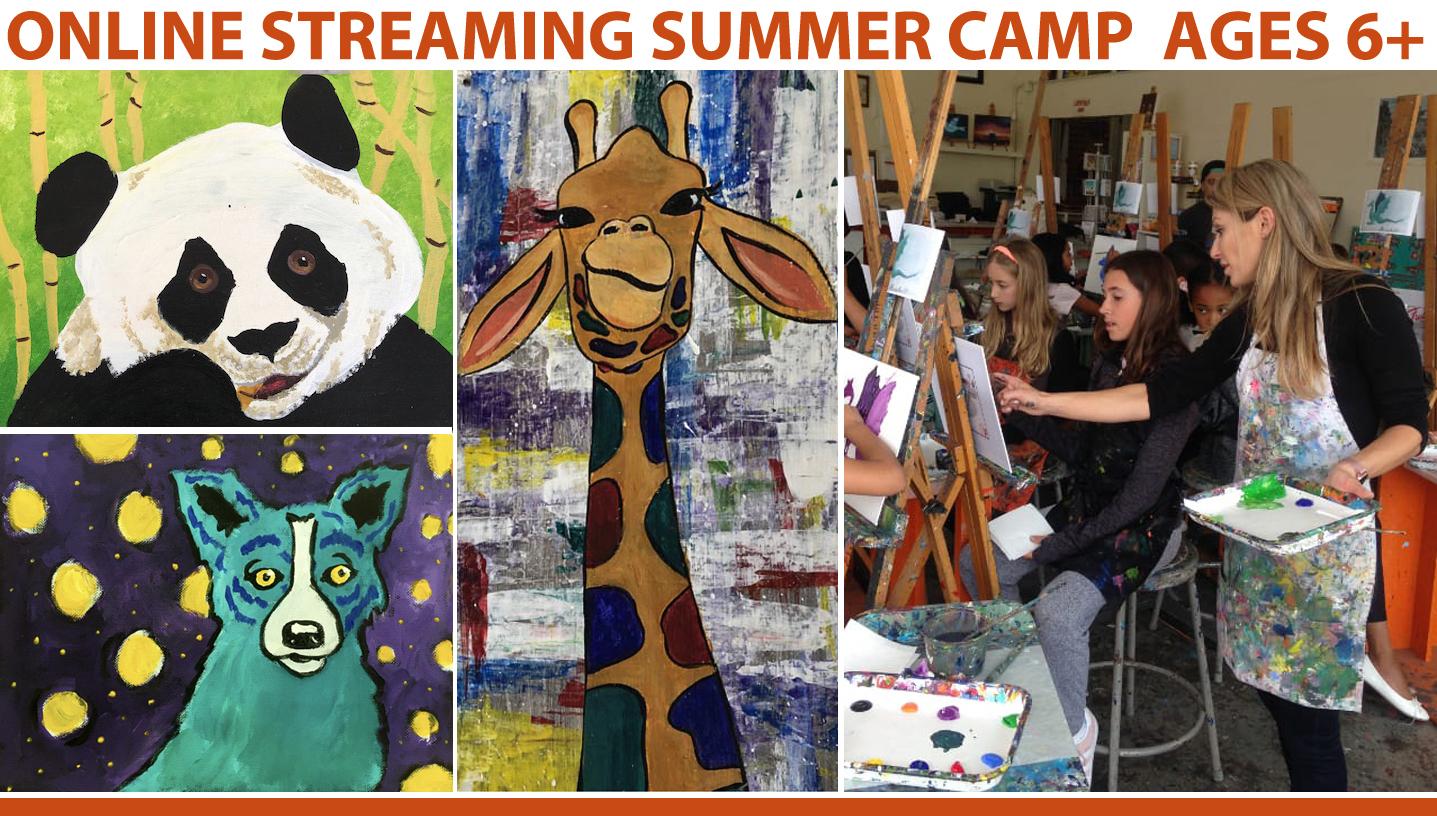 Summer Art Camp -- Online