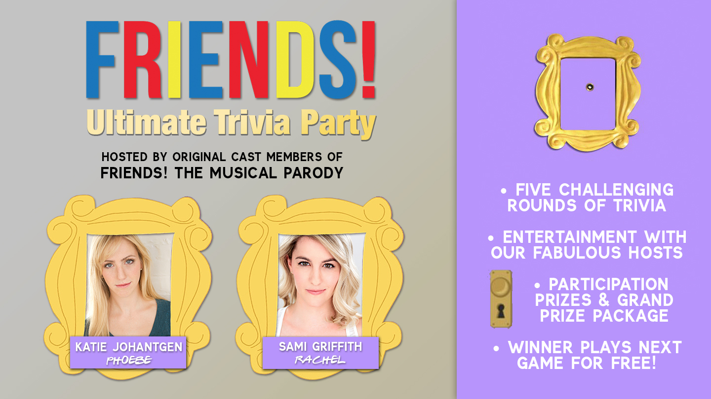 """""""Friends""""! Ultimate Trivia Party Online"""