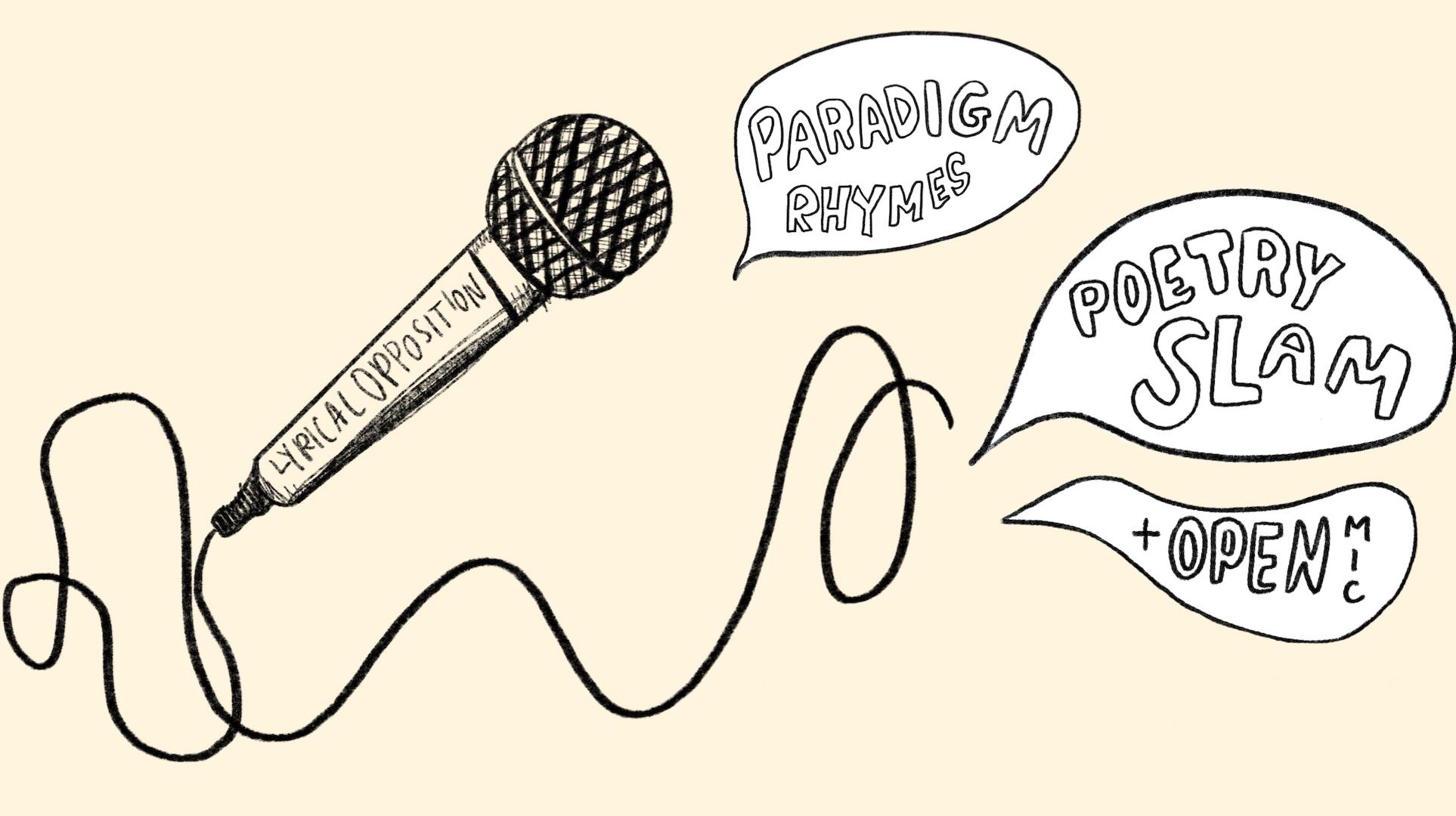 """""""Paradigm Rhymes"""": Online Poetry + Music Showcase"""
