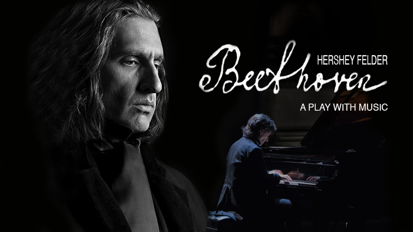 """""""Hershey Felder as Beethoven"""": Live-Streamed Musical Event from Florence, Italy"""