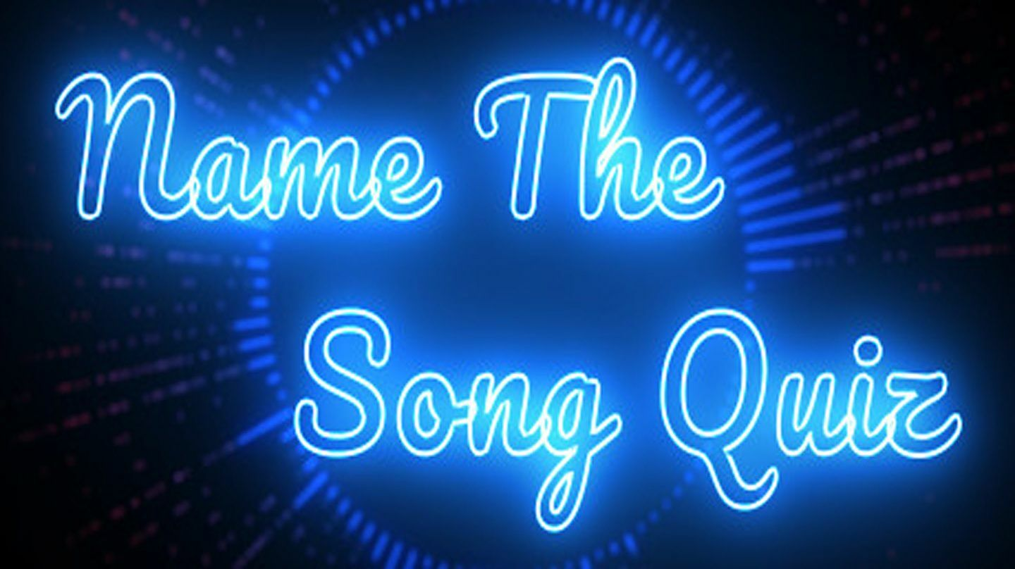 Name the Song - Top 40 ('80s & '90s Edition)