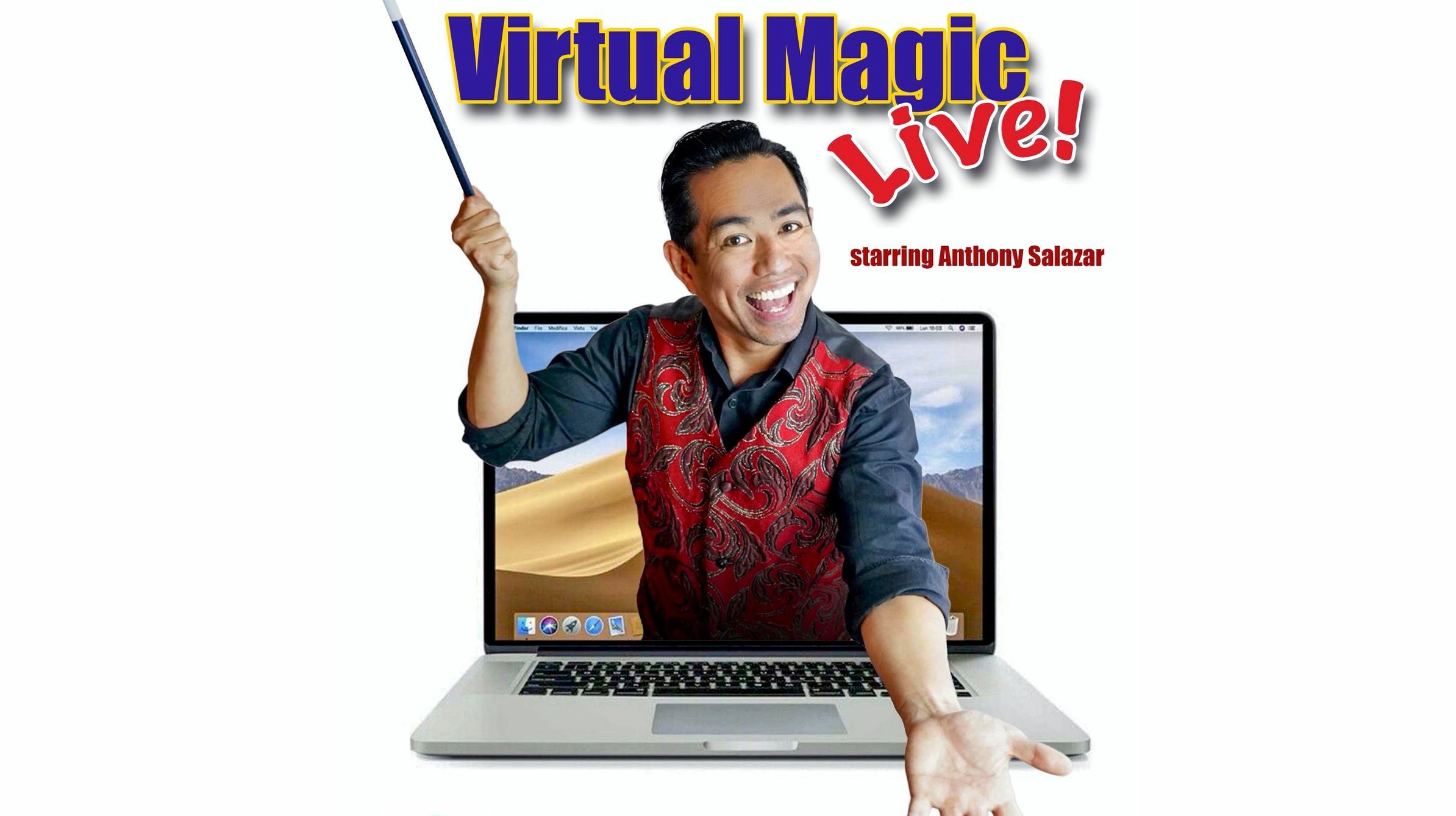 Virtual Magic Show With Anthony Salazar