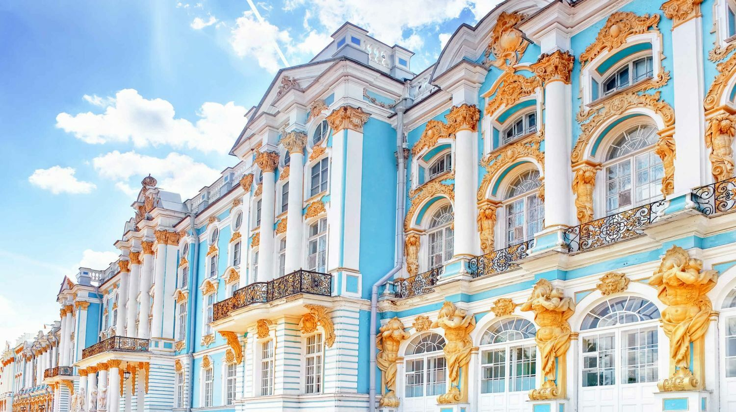 Summer Palaces of Russian Tsars -- Online