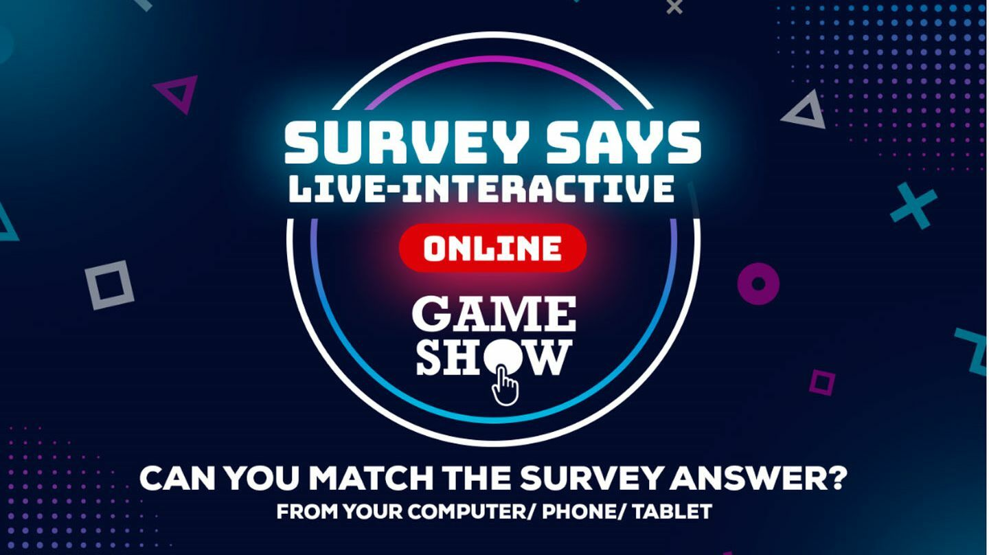 """""""Survey Says"""": Online Interactive Game Show"""