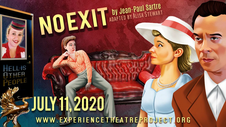 """No Exit"" with Le Chat Noir Moderne: Online Performance"