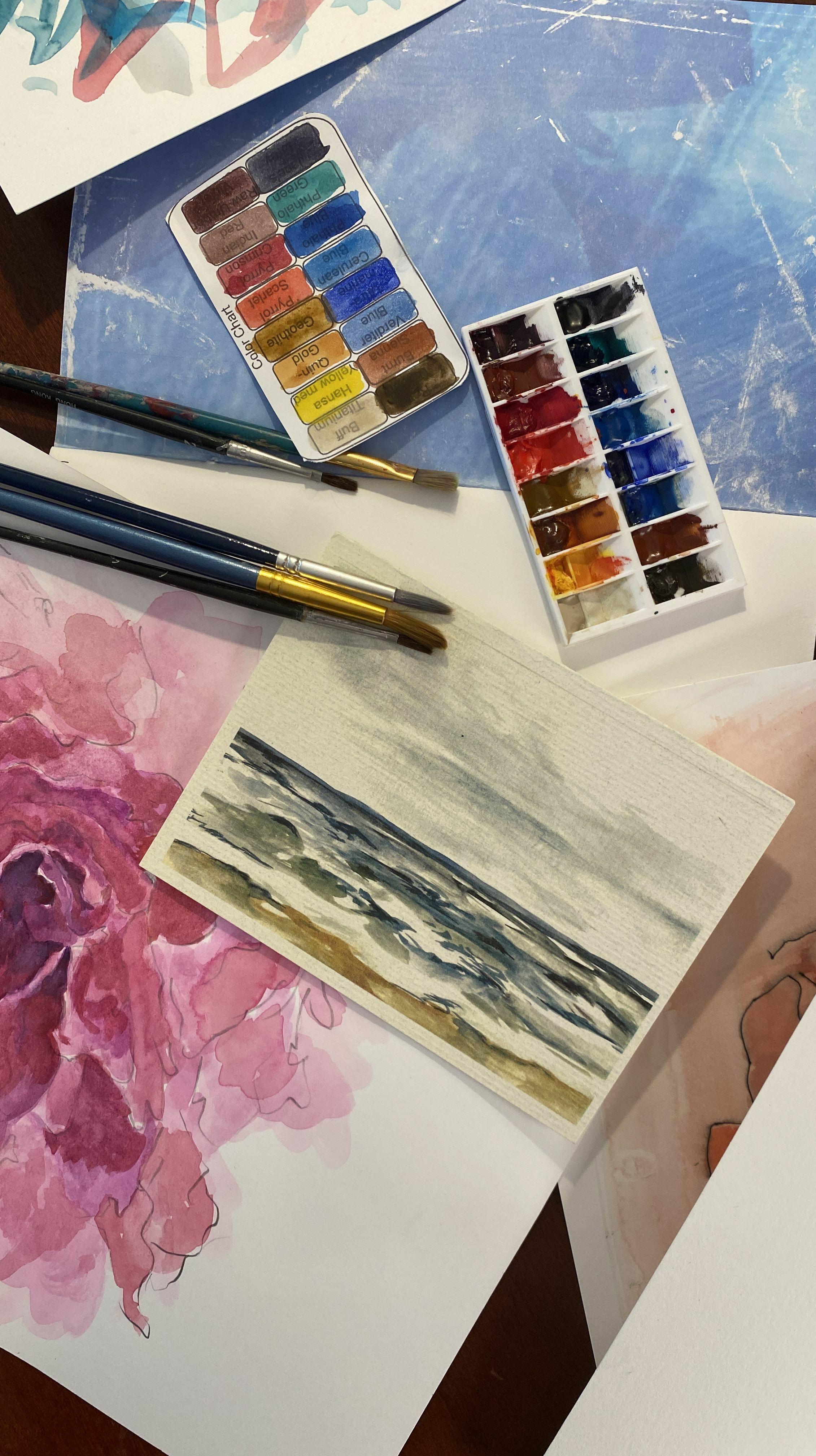 Beginners Watercolor Workshop