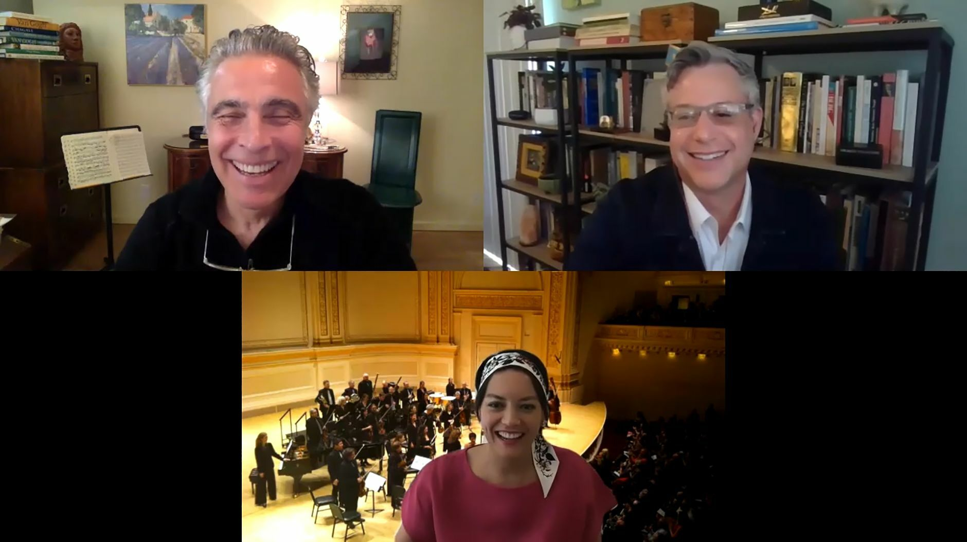 Pasadena Symphony in Conversation With Anne Akiko Meyers Online