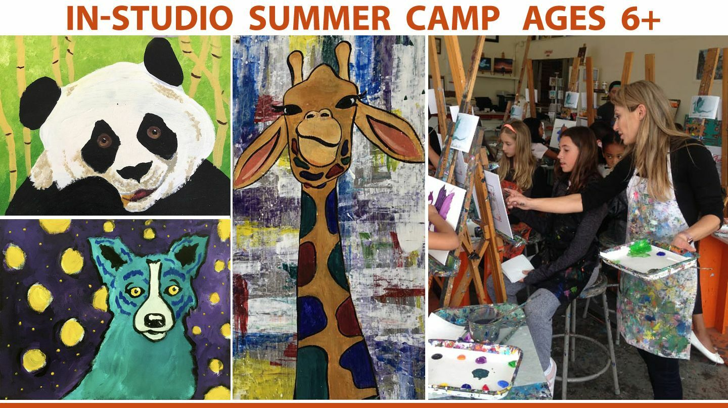 In-Studio Creative ART Camp Adventure
