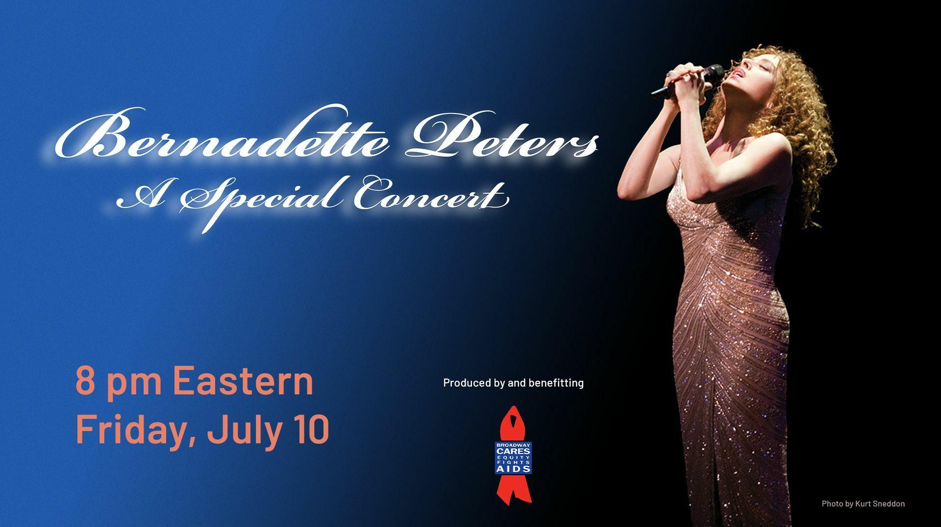 "Stream of ""Bernadette Peters: A Special Concert"""