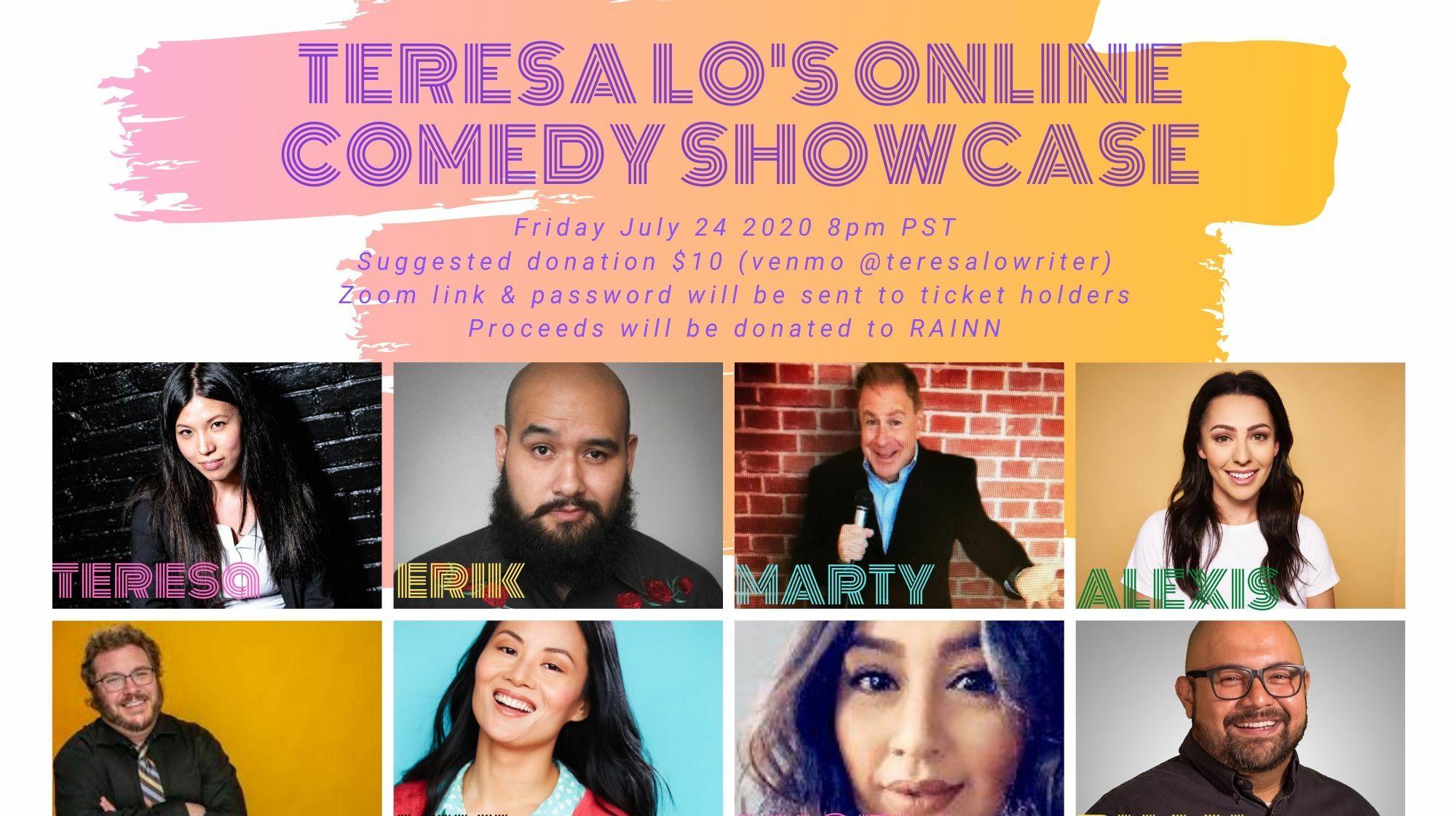 Teresa Lo's Online Comedy Showcase