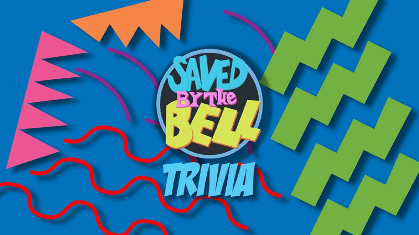 """""""Saved by the Bell"""" Trivia fundraiser : Online Live Host"""