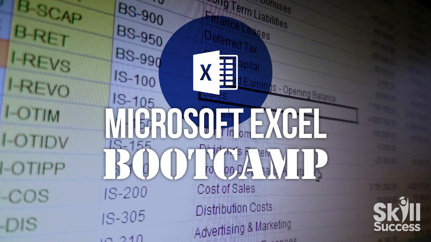 Microsoft Excel Bootcamp Online