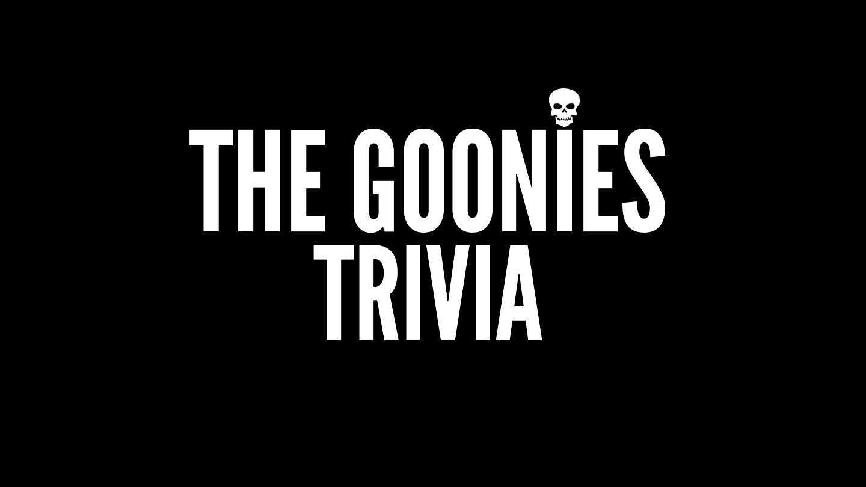 """""""The Goonies"""" Trivia Online"""